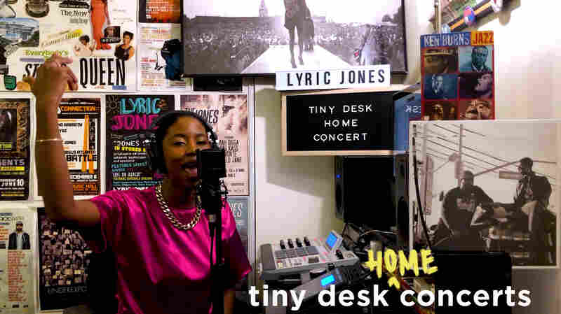 Lyric Jones: Tiny Desk (Home) Concert