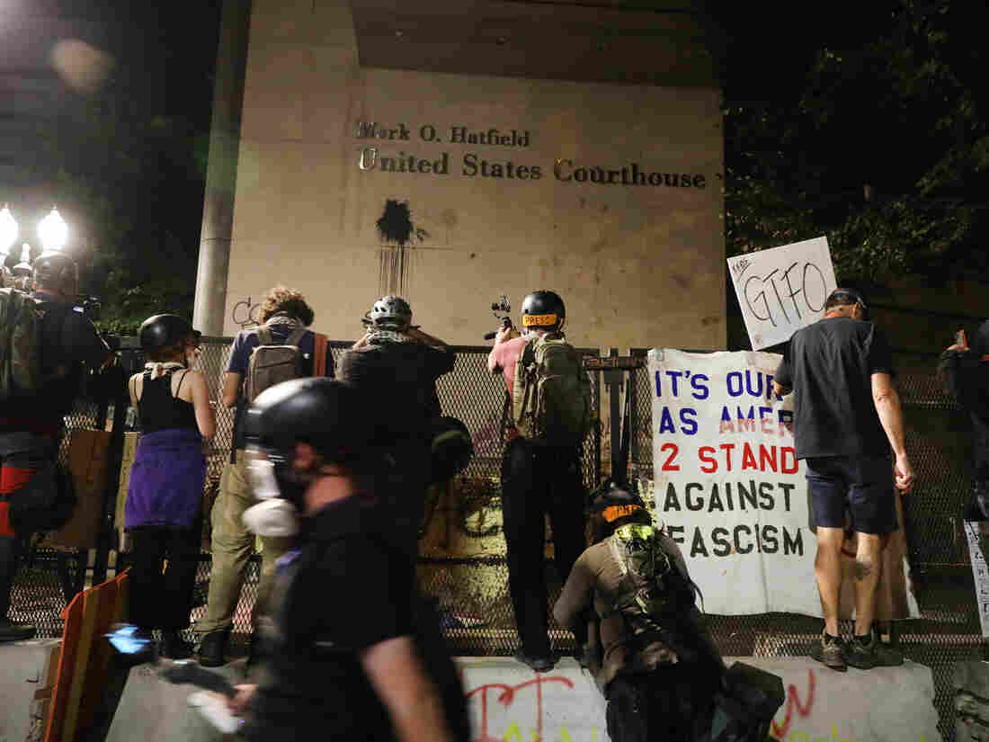 For Some Arrested At Portland Protests, Release Is Conditional On Not Attending More