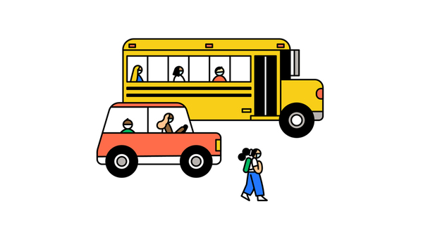 Riding the bus can be risky for kids, particularly if the bus is packed.
