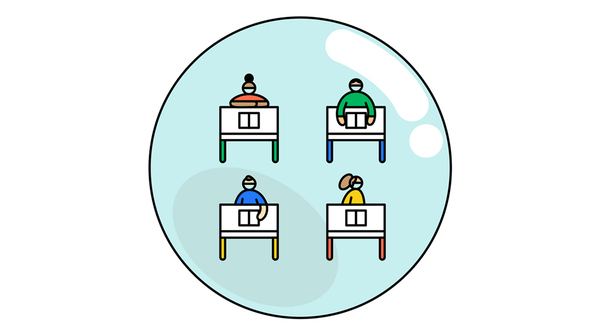"""Isolating classrooms from one another may be one way to enforce social distancing among kids. """"The class forms a bubble that can be maintained,"""" says Dr. William Miller, an epidemiologist at Ohio State University."""