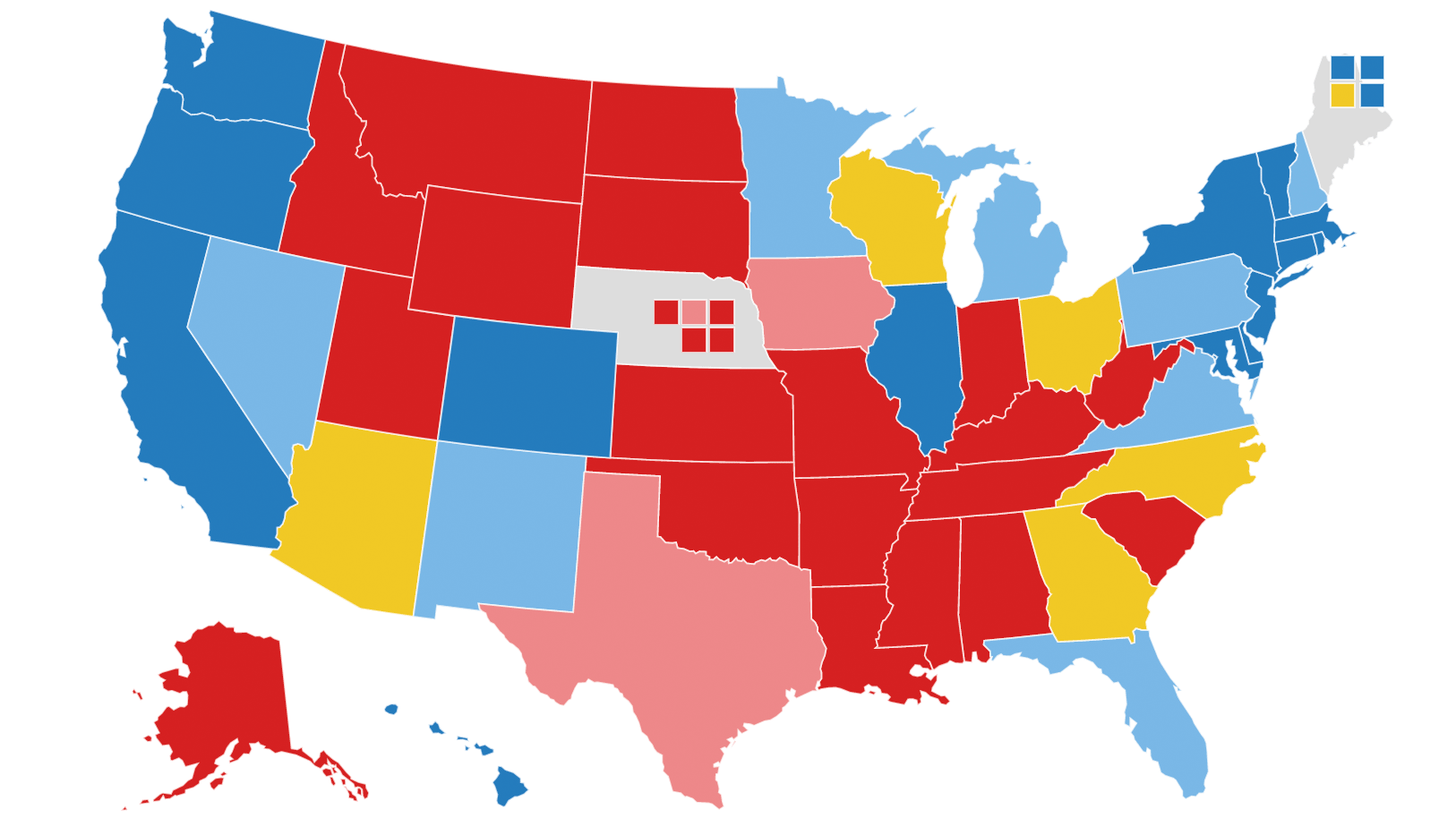 political betting republican nomination map