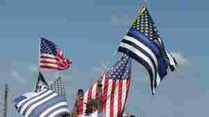 Thin Blue Line Flags Stir Controversy In Mass. Coastal Community