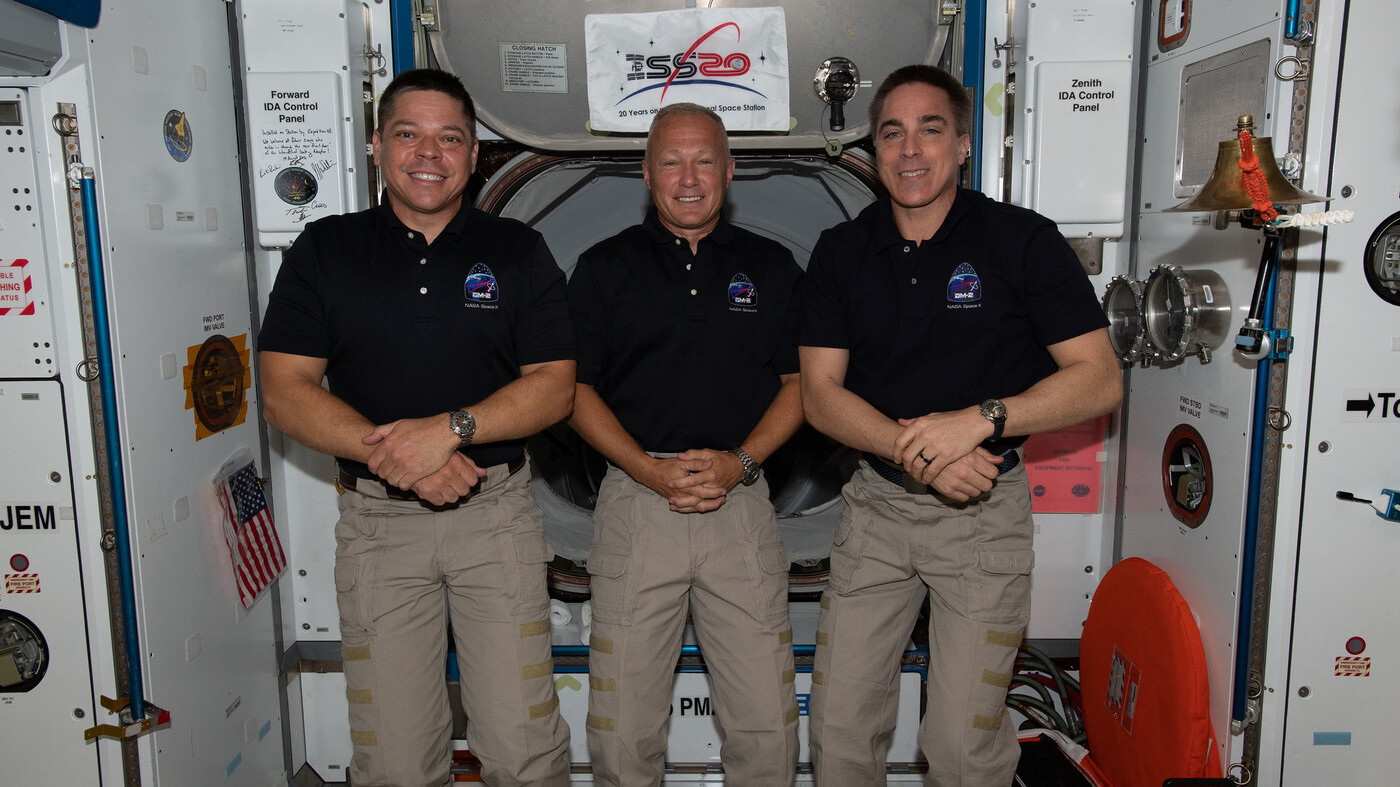 The Astronauts SpaceX Crew Dragon Capsule Are Returning To Earth – NPR