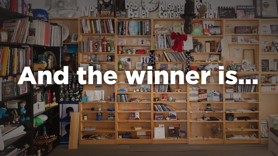 And the Tiny Desk Contest winner is... (NPR)