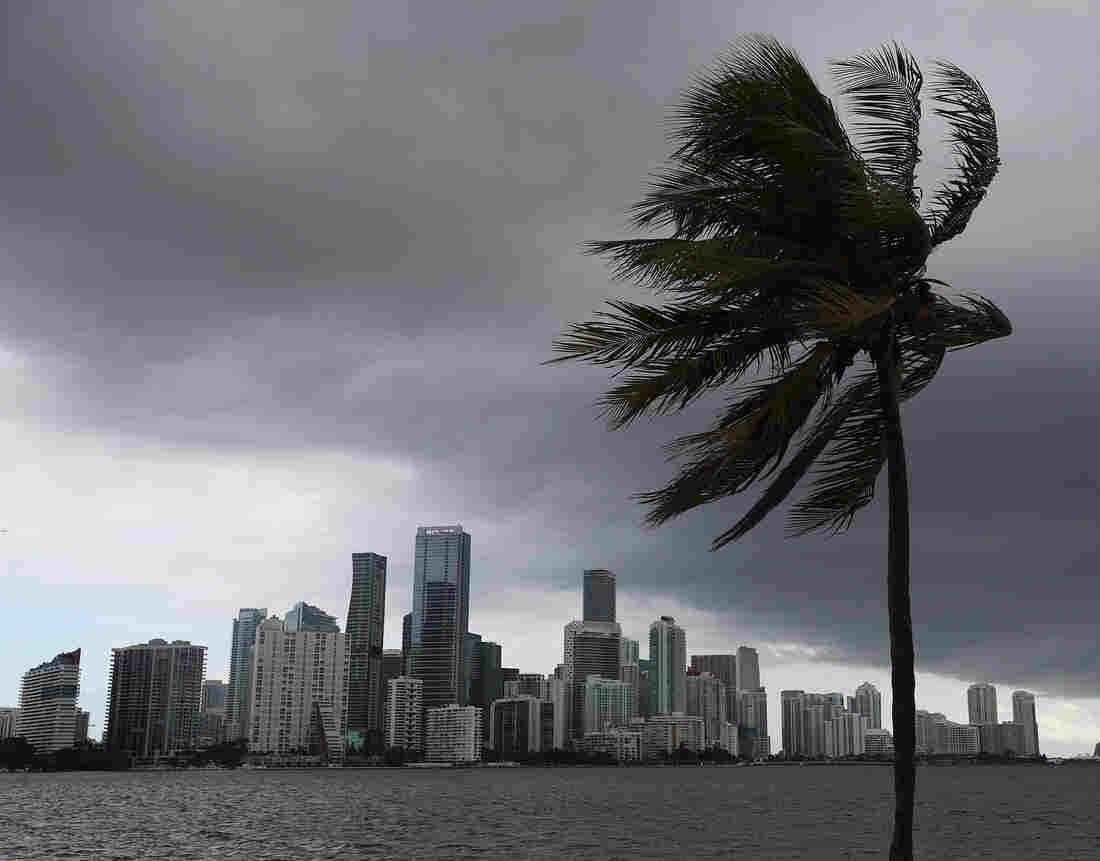 Tropical Storm Isaias Nears Florida Coast