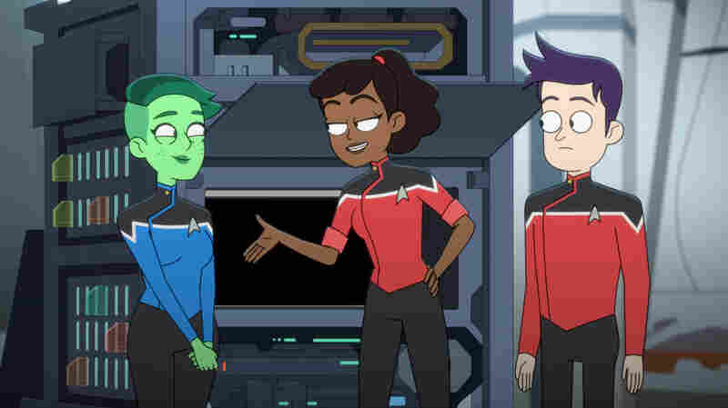 With 'Star Trek: Lower Decks,' A Venerable Franchise Loosens Up