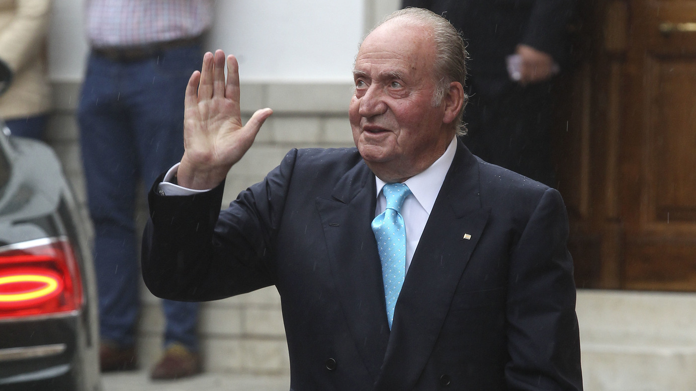 Spain's Former King Leaving Country Amid Investigations Into Finances – NPR