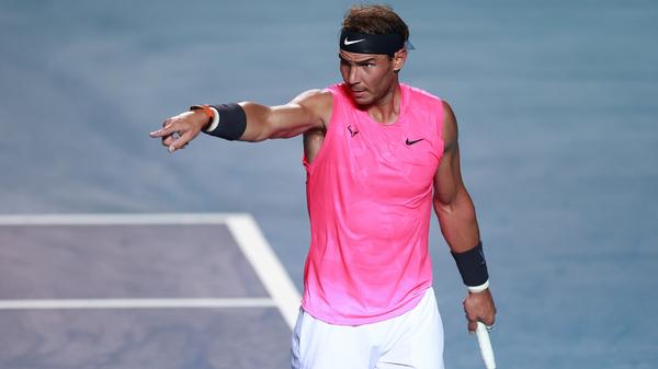 Rafael Nadal had hoped to win his 20th Grand Slam at this year