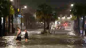 Isaias Makes Landfall In North Carolina