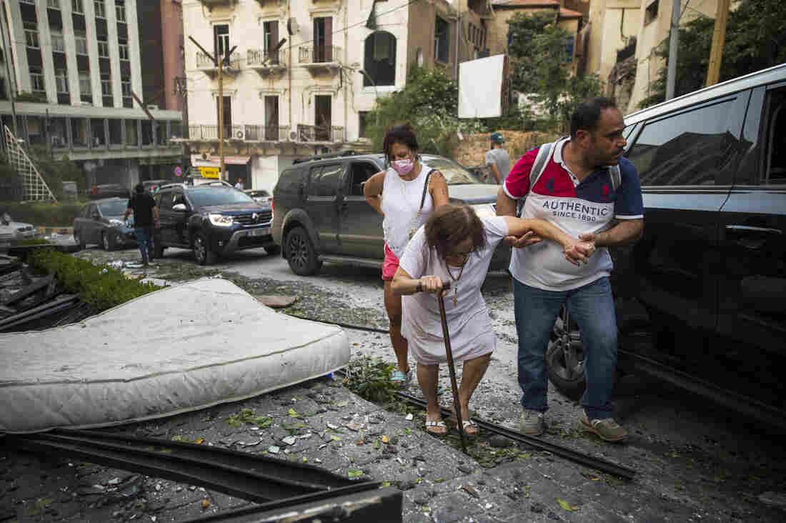 Beirut explosion: Lebanon awakes to devastation as more than 100 confirmed dead