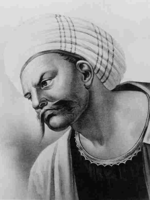 1890 Synnberg photo-gravure portrait of Averroes.