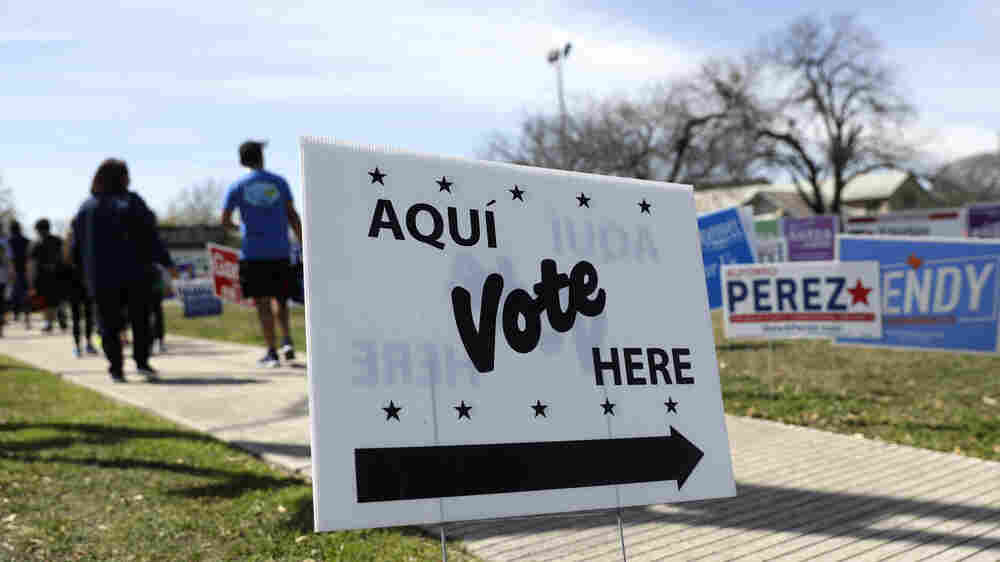 Drive-Through Voting? Texas Gets Creative In Its Scramble For Polling Places