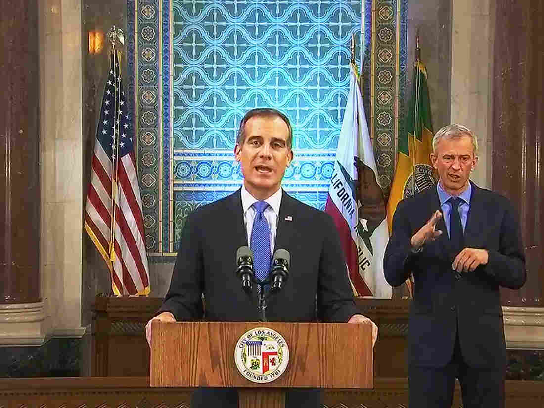 Los Angeles Mayor Orders Water, Power Cut Off to Homes Hosting Parties
