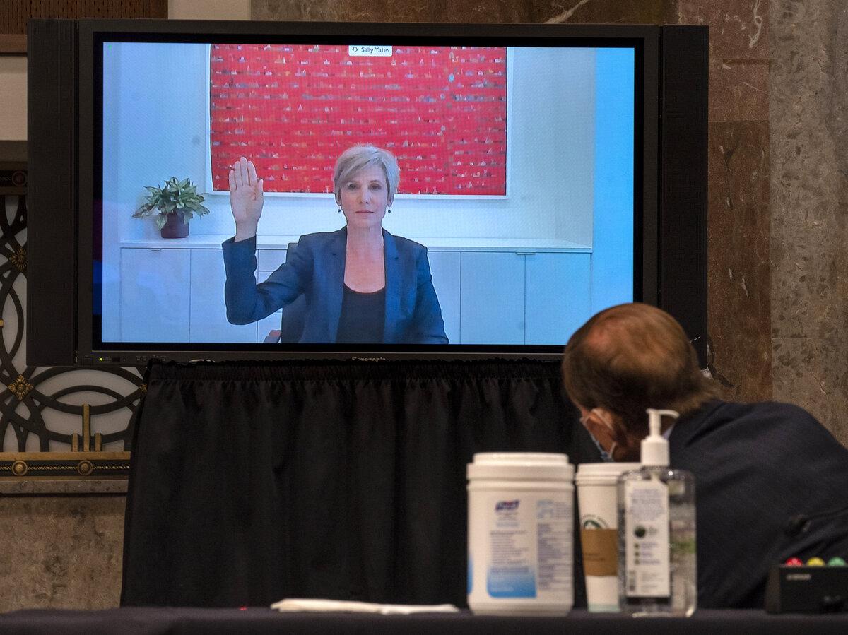 Sally Yates testifies