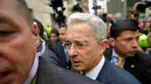 Colombia's Ex-President Uribe Is Put Under House Arrest, Catches Coronavirus