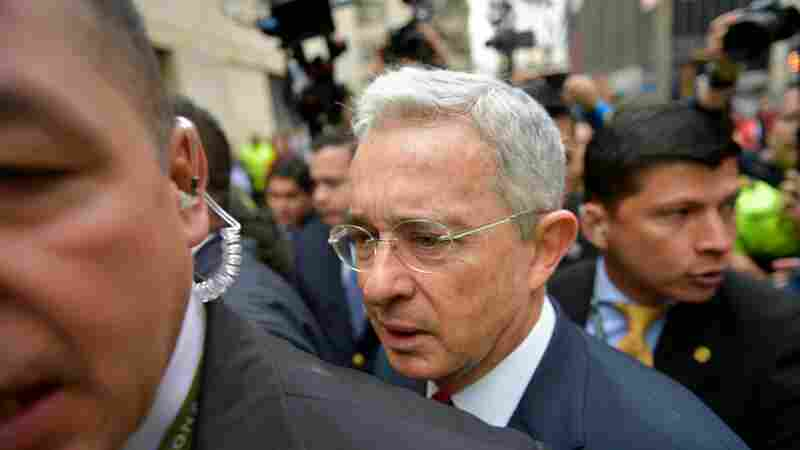 Colombia's Ex-President Uribe Is Put Under House Arrest, Catches Coronavirus