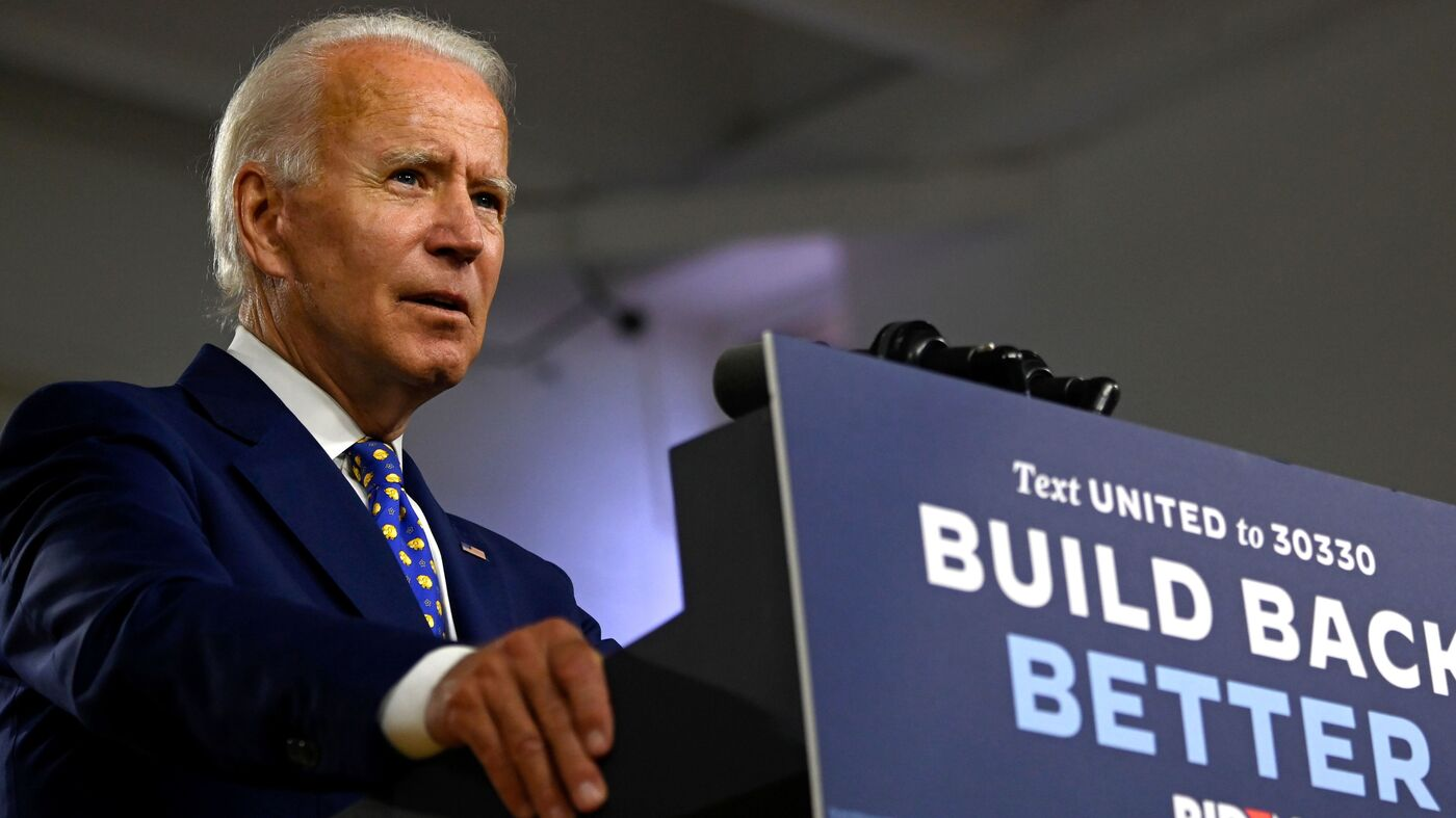 'Not Another Foot': Biden Vows To End Trump Border Wall If Elected – NPR