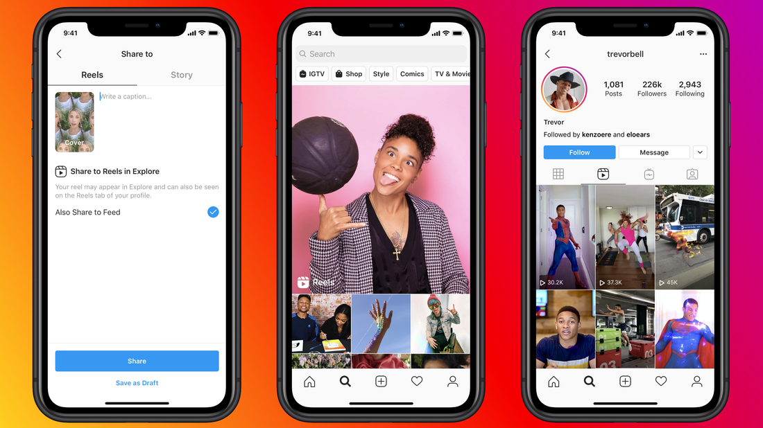 Facebook launches a new TikTok clone, Instagram Reels