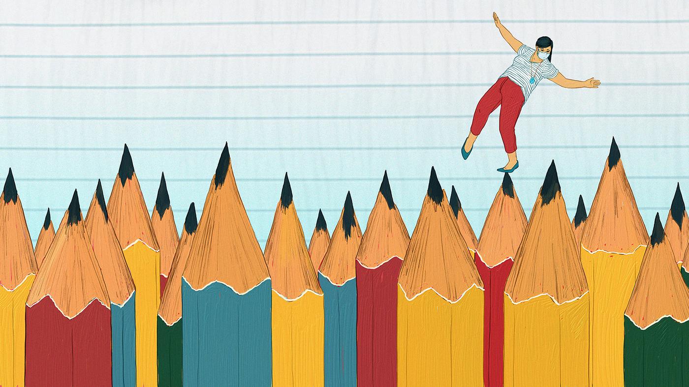 Most Teachers Worried About Reopening Schools, Coronavirus Poll Finds : NPR