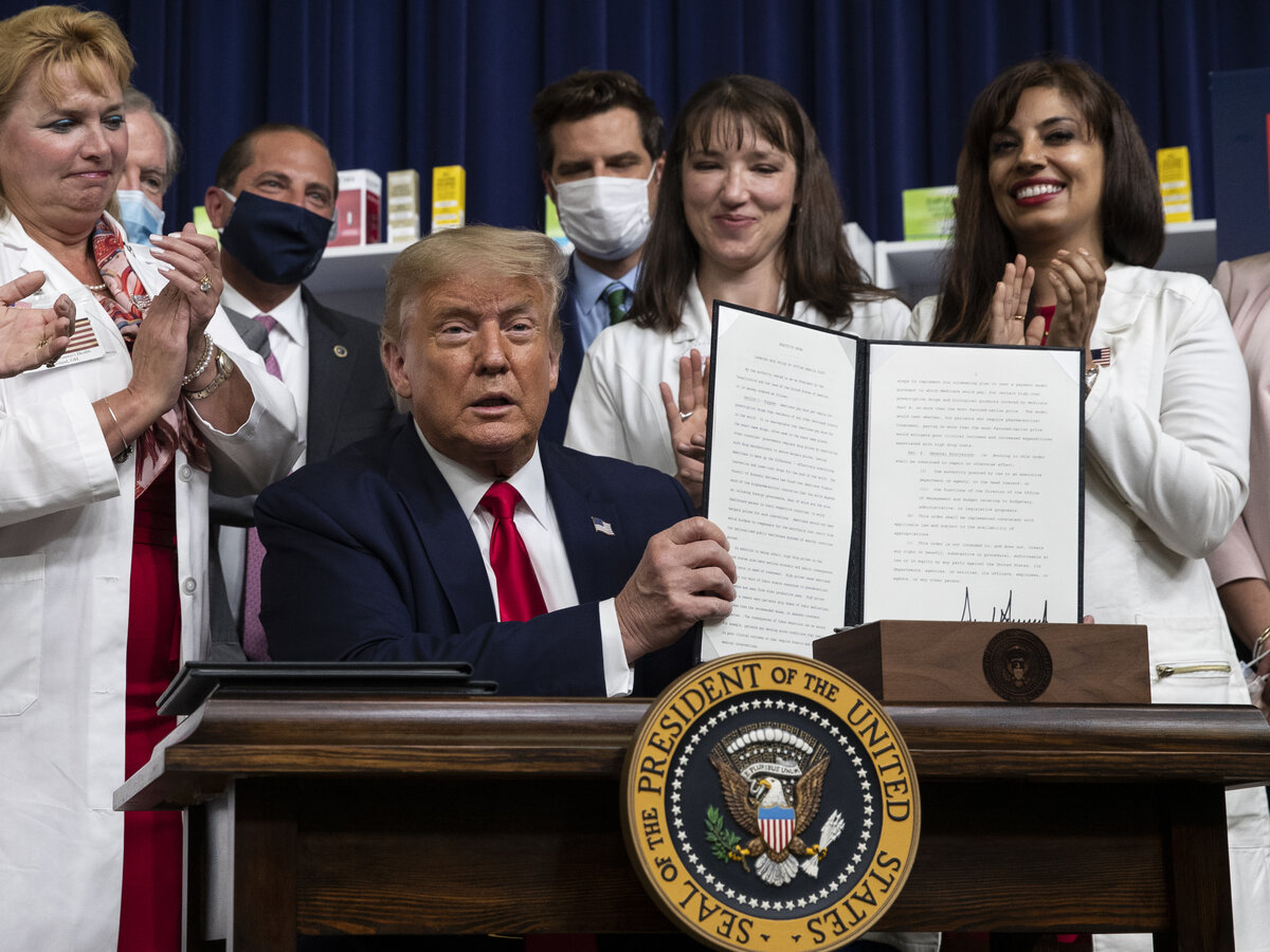Trump seeking deal for drug prices