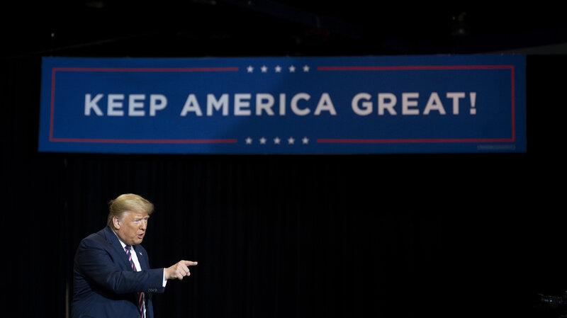 2020 Polling Why Trump Vs Biden Is Not Trump Vs Clinton Npr