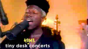 Moses Sumney: Tiny Desk (Home) Concert
