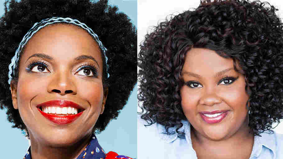 Comedians Sasheer Zamata and Nicole Byer appear on NPR's Ask Me Another.