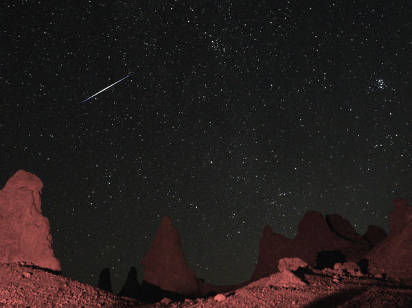 The Perseid Meteor Shower, pictured here near Death Valley, California, in 2019, is one of the most popular of the year. This summer, it peaks in the pre-dawn hours of Aug. 12.