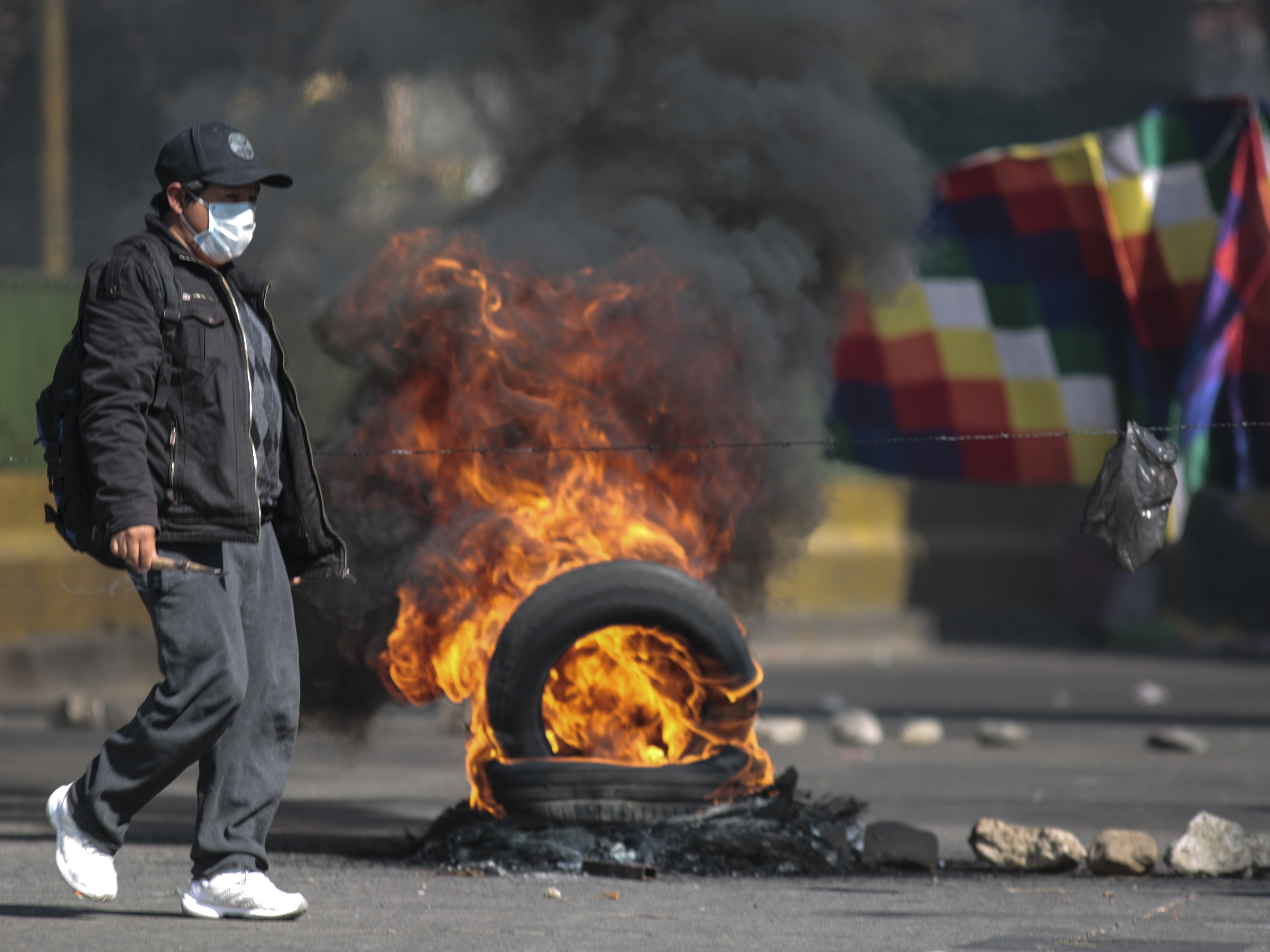 We Can T Stand It Anymore Bolivian Protesters Demand Quick Elections Npr