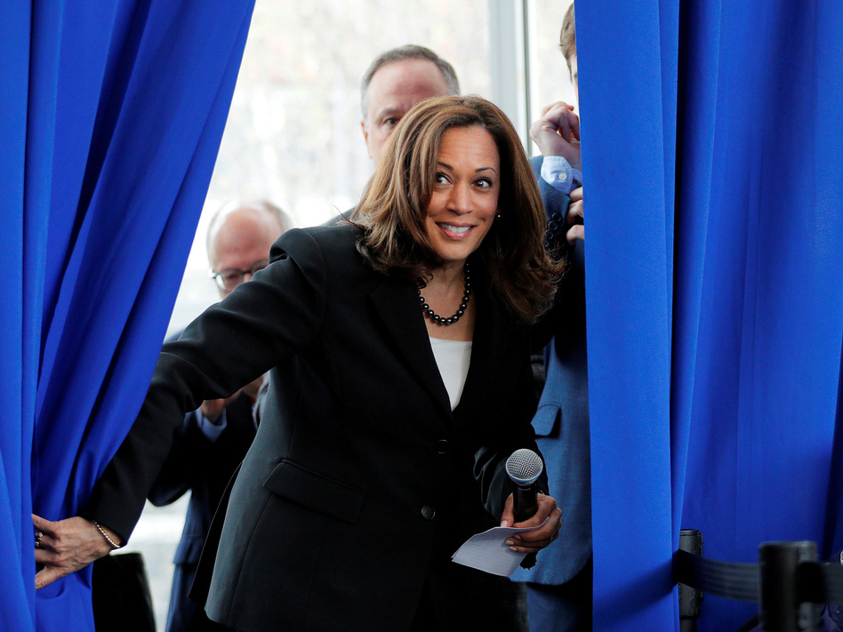 In Historic Pick Joe Biden Taps Kamala Harris To Be His Running Mate Capradio Org