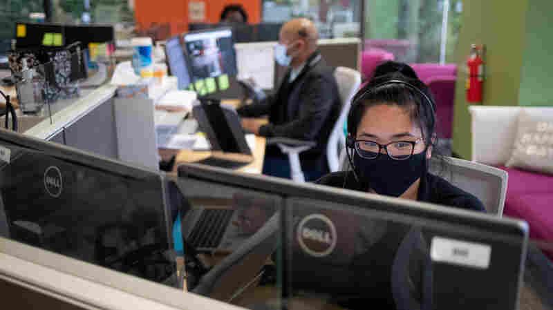 California And Texas Health Officials: Mistrust A Major Hurdle For Contact Tracers