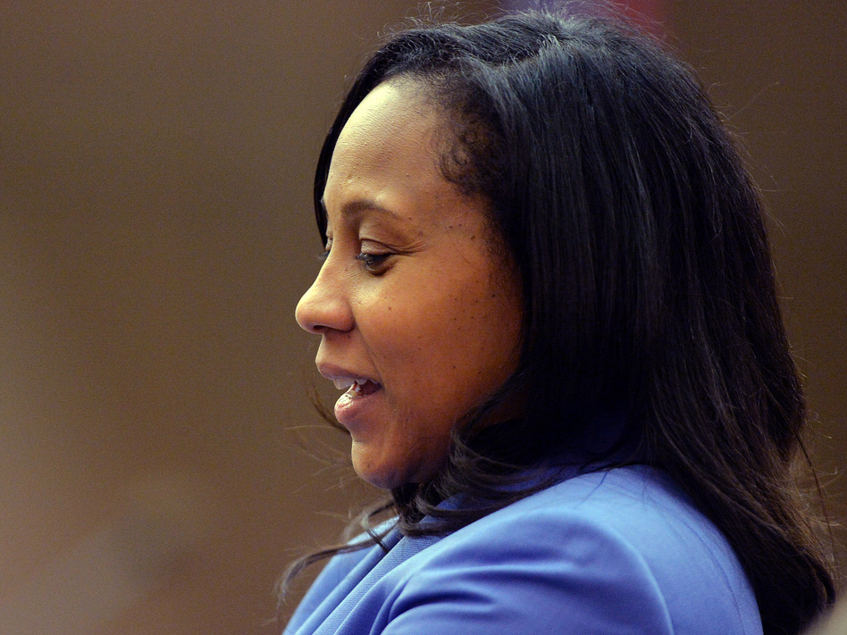 Fani Willis is poised to become the next Fulton County District Attorney after winning a runoff election against her former boss on Tuesday. Willis is seen here in 2014 during the trial of 12 former Atlanta Public Schools educators accused in a conspiracy to inflate state test scores. (Kent D. Johnson/AP)