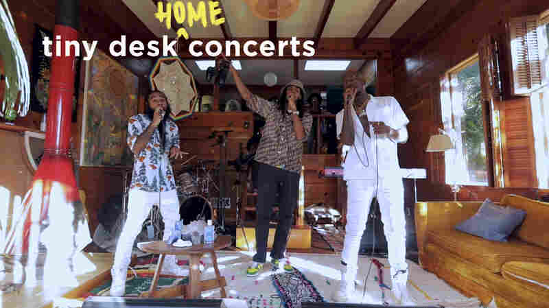 Flatbush Zombies: Tiny Desk (Home) Concert