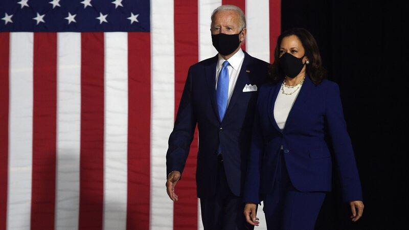 Recap Biden And Vp Pick Kamala Harris Deliver Remarks Npr