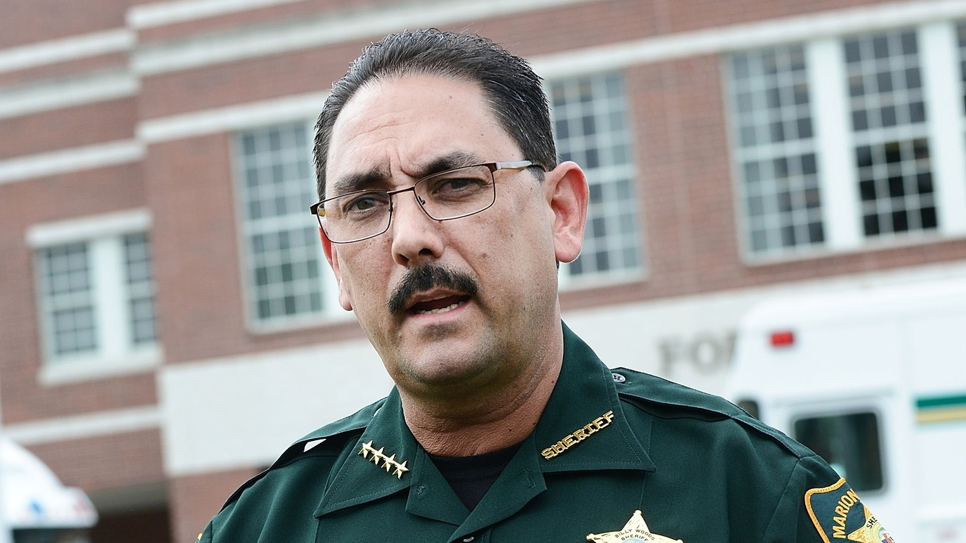 Florida Sheriff Orders Deputies And Staff Not To Wear Face Masks - NPR