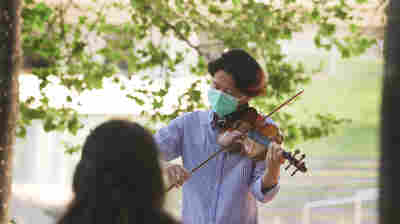 During A Lonely New York Summer, Lincoln Center Brings Music To Essential Workers