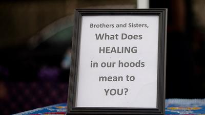 Racial Healing Circles Seek To Make Space For Listening