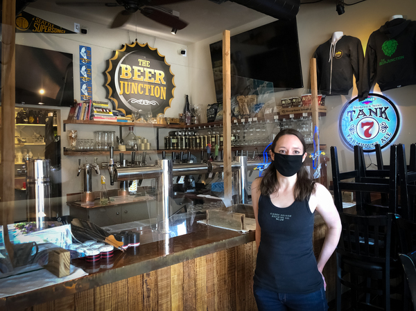 The pandemic is taxing the nations bar owners such as Allison Herzog who runs The Beer Junction in Seattle After shutting down indoor service in the spring Herzog was finally able to reopen this summer Within a month the coronavirus was spreading again and she was forced to close for a second time