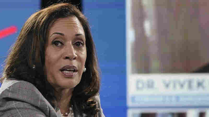 Trump And His Campaign Amplify 'Birther' Conspiracy Against Kamala Harris