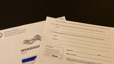 A Design Flaw In A D.C. Elections Mailer Is Confusing Lots Of Voters