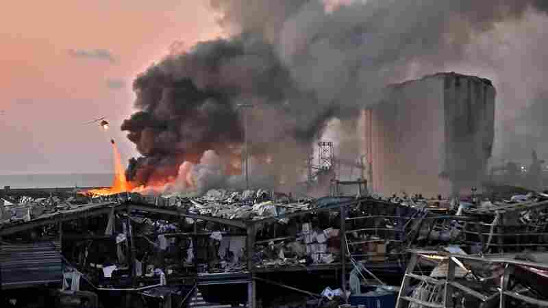 After Beirut, Experts Warn Of 'Dangerous Gaps' In U.S. Oversight Of Ammonium Nitrate