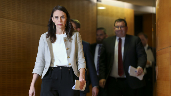 """New Zealand Prime Minister Jacinda Ardern gets here for an interview Friday in Wellington. A brand-new coronavirus break out has actually grown to 30 cases, and Ardern forecasts of the cluster, """"It will grow prior to it slows."""""""