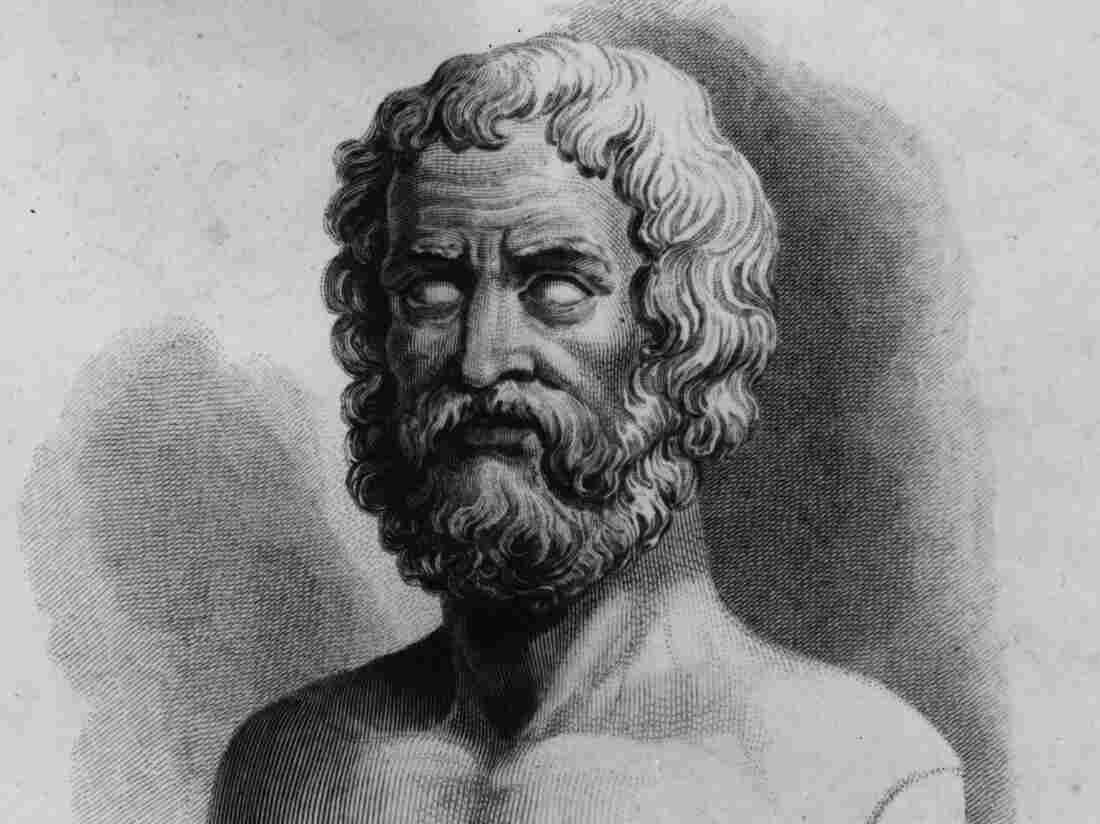 The Greek poet Hesiod, who lived in the 8th century B.C.