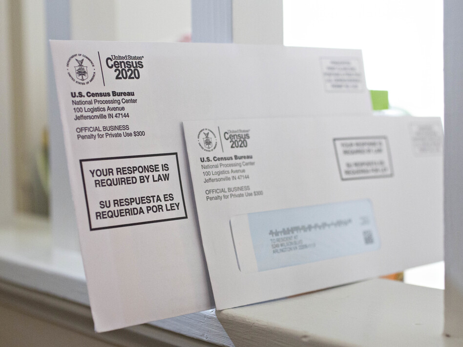 Amid mail delivery delays, the U.S. Census Bureau is planning to send additional paper forms to some households that have not yet responded to the 2020 census. (Andrew Harrer/Bloomberg via Getty Images)