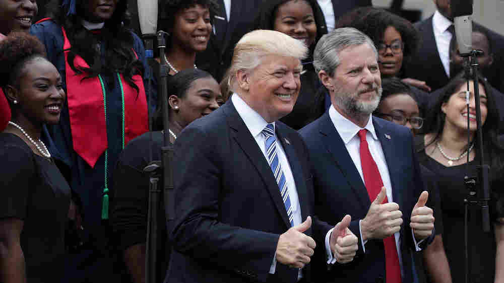After Falwell's Departure, Liberty Students Worry About Their School And Their Faith