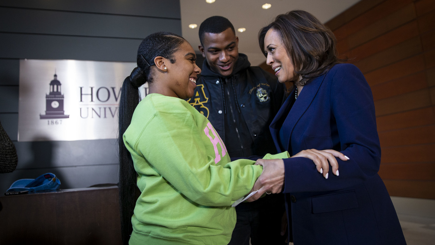 Howard University Shaped Kamala Harris Path To Political Heights Npr
