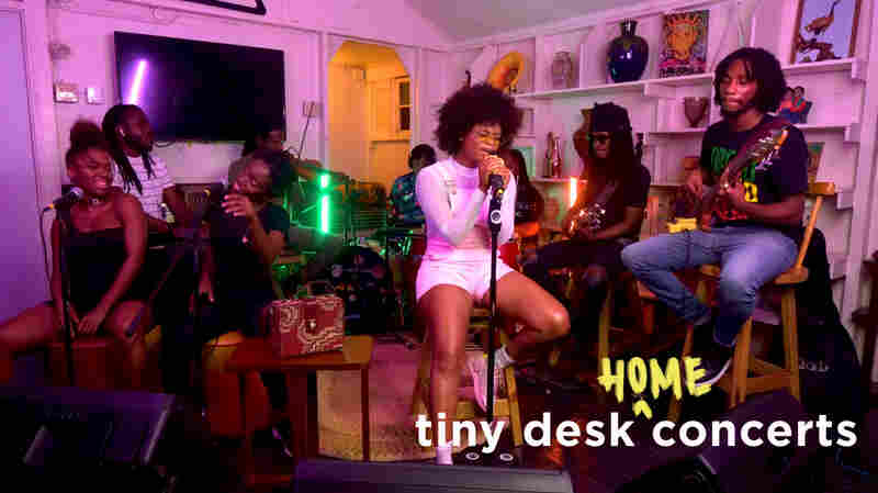 Lila Iké: Tiny Desk (Home) Concert