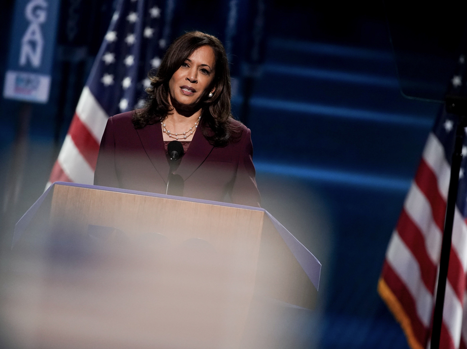 Watch Kamala Harris Address To 2020 Democratic National Convention Capradio Org