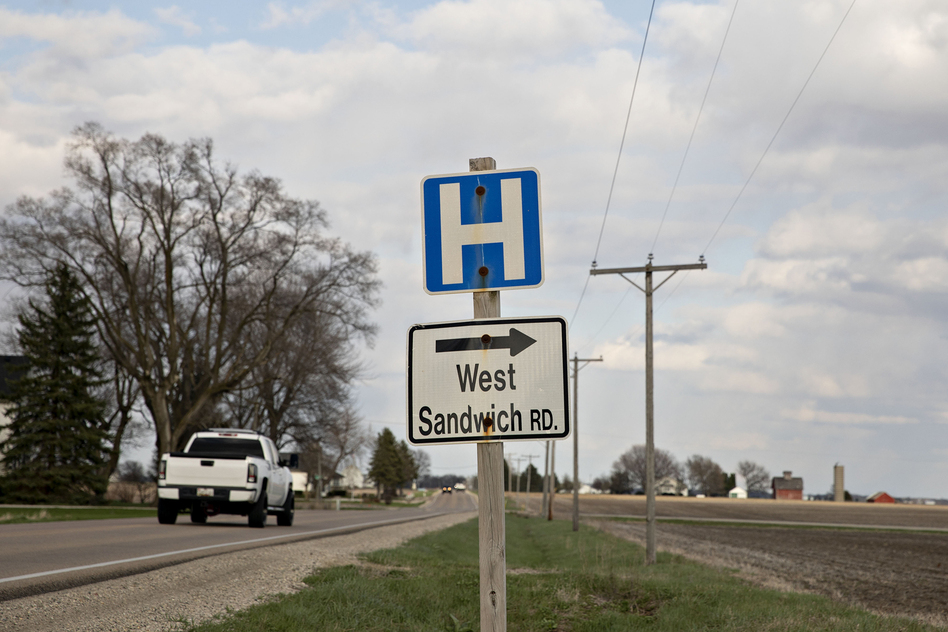 """When the pandemic hit this spring, U.S. rural hospitals lost an estimated 70% of their income as patients avoided the emergency room, doctor's appointments and elective surgeries. """"It was devastating,"""" says Maggie Elehwany of the National Rural Health Association. (Daniel Acker/Bloomberg via Getty Images)"""