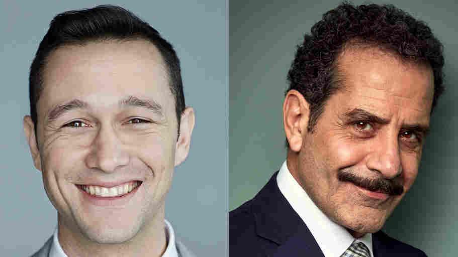 Joseph Gordon-Levitt and Tony Shalhoub appear on NPR's Ask Me Another.